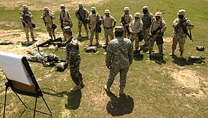 English: Camp Shelby, Miss. (April 7, 2006) - ...