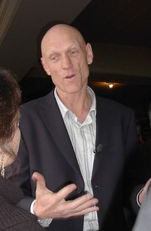 Peter Garrett campaigning in Melbourne for the...