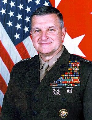 General Anthony Zinni, USMC