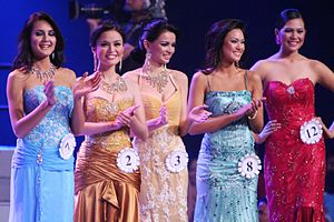 Evening Gown of Binibining Pilipinas 2008