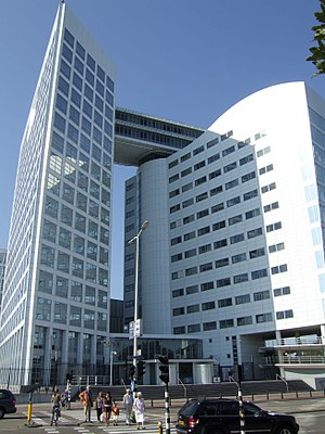 English: The building of the International Cri...