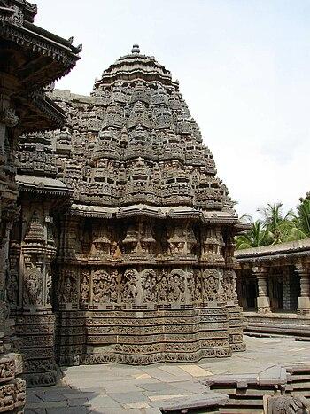 hoysala architecture from wikipedia