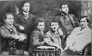 English: Yiddish theater actors and personalit...