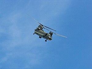 East Fortune Airshow 2009 - RAF Boeing CH-47 C...
