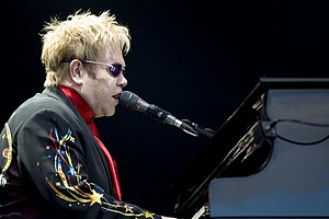 Elton John, English singer-songwriter and pian...