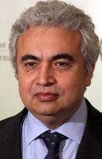 English: Fatih Birol, the Chief Economist of t...