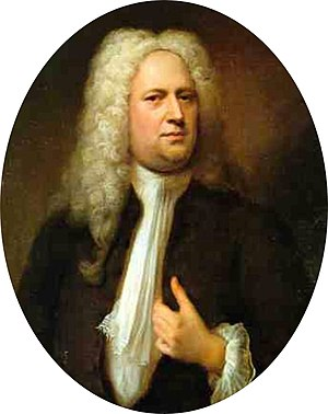 Portrait of Georg Friedrich Händel Deutsch: Ge...