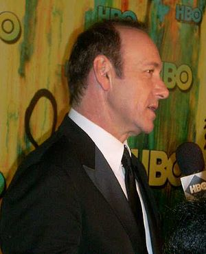 English: Kevin Spacey, at the HBO post-Emmys p...
