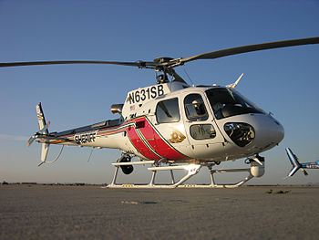 AS-350 Astar of the San Bernardino County Sher...