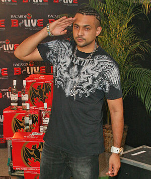 Sean Paul at B-Live concert in New York City