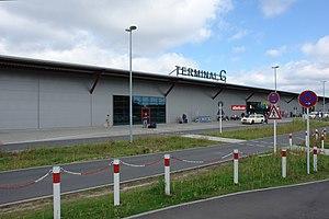 Der neu errichtete Terminal C des Flughafens B...