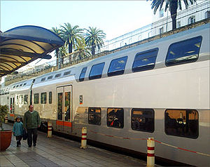 Picture of the Train of Morocco in the Rabat M...