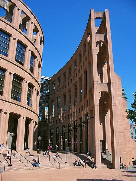 """Wikipedia: Vancouver Library - as seen on """"Fringe"""""""