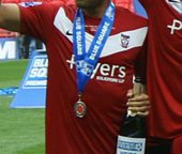Chambers After Playing For York City In The 2012 Conference Premier Play Off Final
