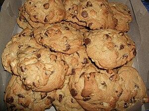 Chocolate chip macadamia nut cookies.