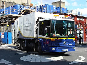 City of Westminster rubbish truck