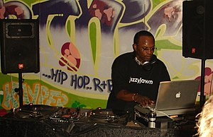 DJ Jazzy Jeff in Cambridge, England on May 25,...