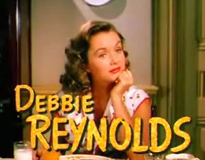 Cropped screenshot of Debbie Reynolds from the...