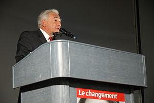 Dominique Strauss-Kahn (French socialist polit...