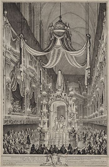 English: Funeral Service of Marie Thérèse Raph...