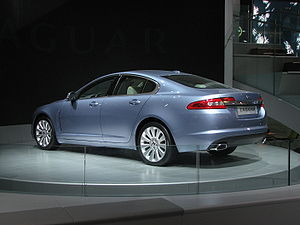 Jaguar XF at NAIAS 08