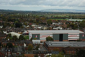 English: Kingsholm, Gloucester Kingsholm, home...