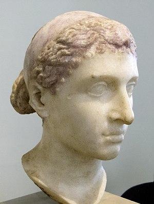 Marmorbüste Kleopatra VII. von Ägypten, entsta...