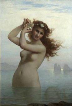 La Sirène - Charles Landelle, 1879
