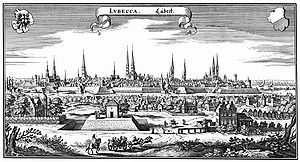 Lübeck in 1641