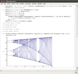 Mathematica logistic bifurcation.png