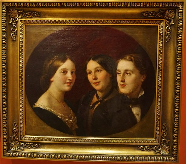 Marianne Egan and her children, Gertrude Evans Cahuac and Henry William Cahuac
