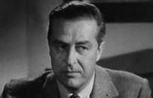 Cropped screenshot of Ray Milland from the fil...