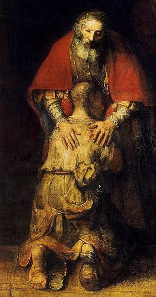 File:Rembrandt - The Return of the Prodigal Son (detail) - WGA19137.jpg