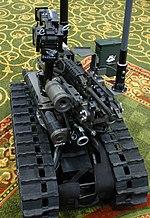 Robot utilizzato per disinnescare ordigni