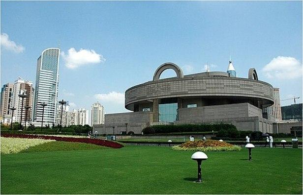 Shanghai Museum exterior 1