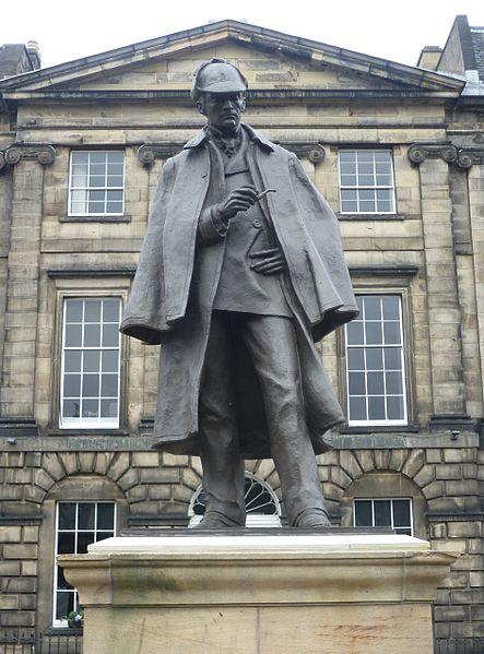 File:Sherlock Holmes Statue, Edinburgh.JPG