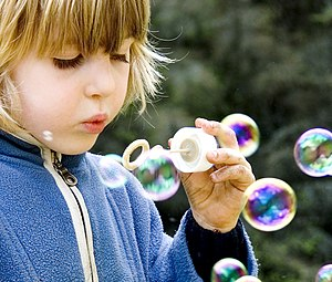 English: Soap bubbles