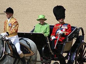 Queen's Official Birthday parade 2007