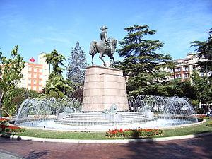View of Square of Paseo del Príncipe de Vergar...