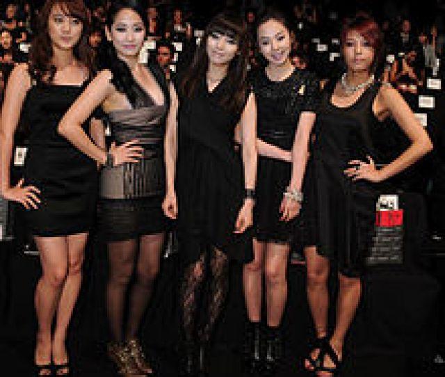 Wonder Girls At Concept Korea Front Row Spring  Mbfw On September