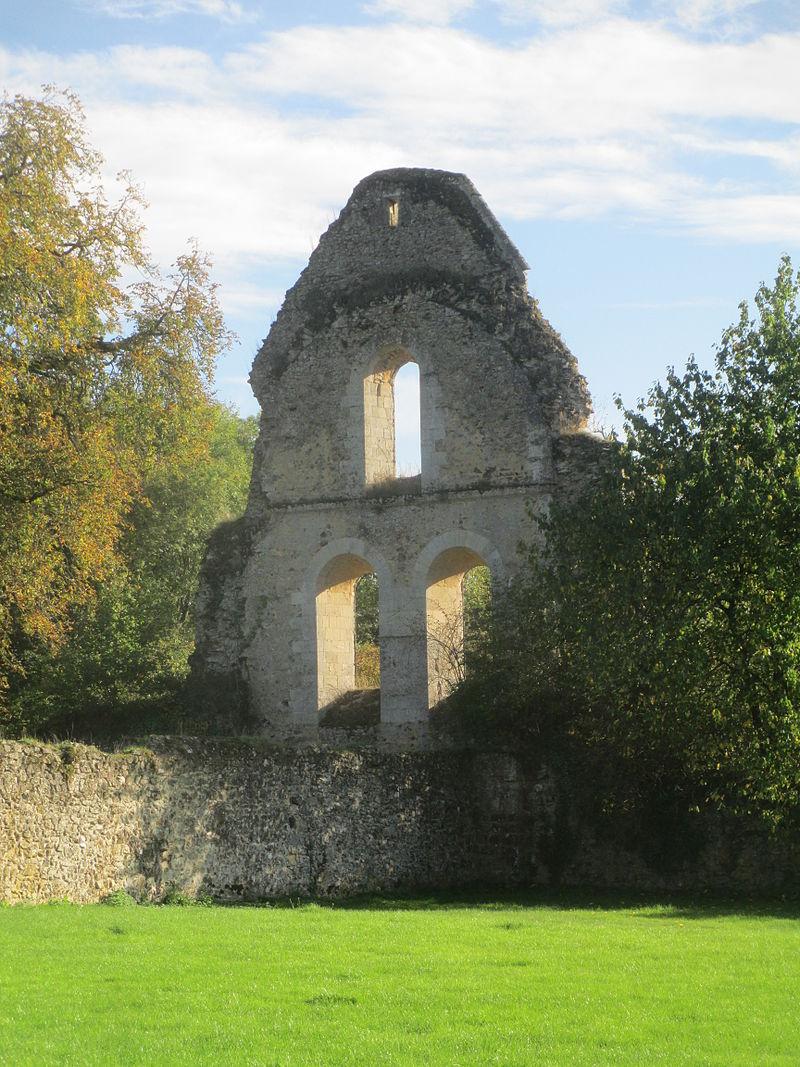 ruines neufchâtel abbaye GR22