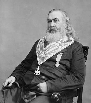 Albert Pike. Library of Congress description: ...