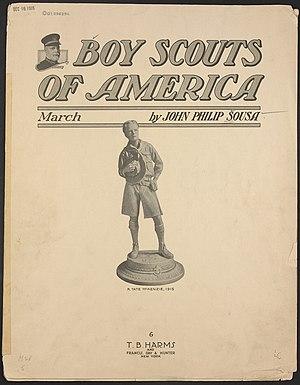 """Boy Scouts of America"" march (sheet..."