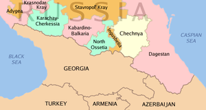 North Caucasus regions within the Russian Fede...