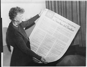 English: Eleanor Roosevelt and United Nations ...