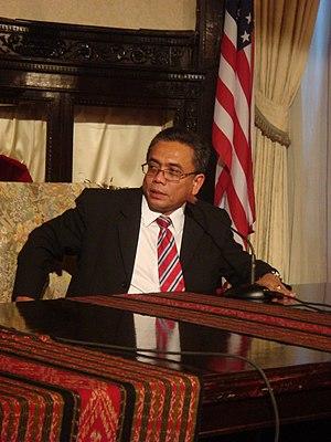 Aceh Governor Irwandi Yusuf Speaking at Indone...