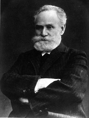 English: Portrait of Ivan Pavlov, Russian phys...