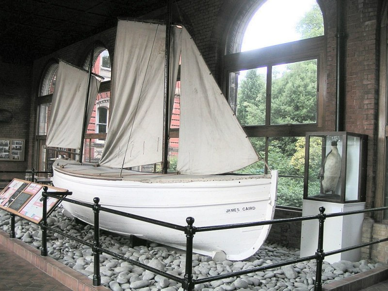 James Caird bow