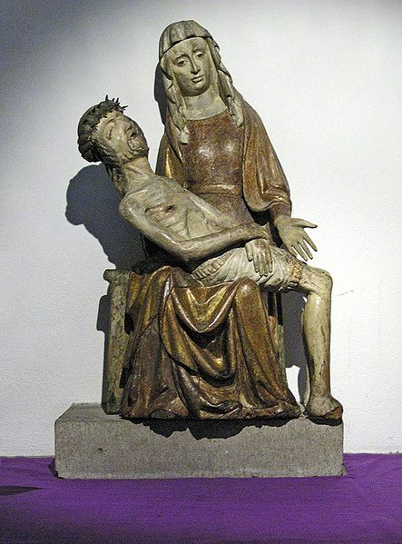 15th c. German Pieta