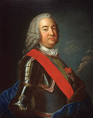 Portrait of Pierre de Rigaud, Marquis de Vaudr...